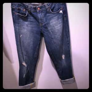 J Crew Vintage Matchstick BF Jeans Size 28R